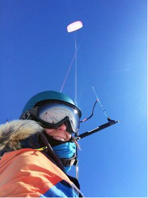 kite selfie